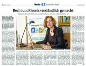 Artikel über Nicola Pridik in der Berliner Woche