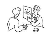 Schaubilder in der Beratung einsetzen (Illustration von Ildikó Zavrakidis)