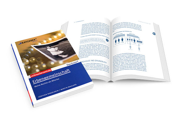 Schaubild im VZ-Ratgeber zur Erbengemeinschaft