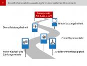 Grundfreiheiten als Voraussetzung für den europäischen Binnenmarkt