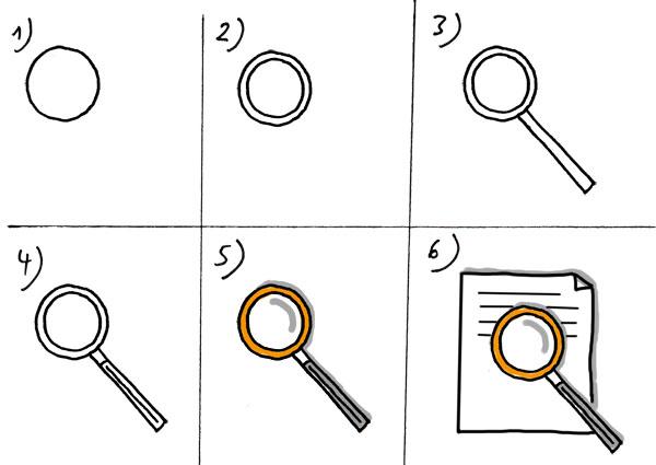 So zeichnen Sie die Prüfung eines Dokuments