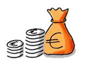 Geld zeichnen