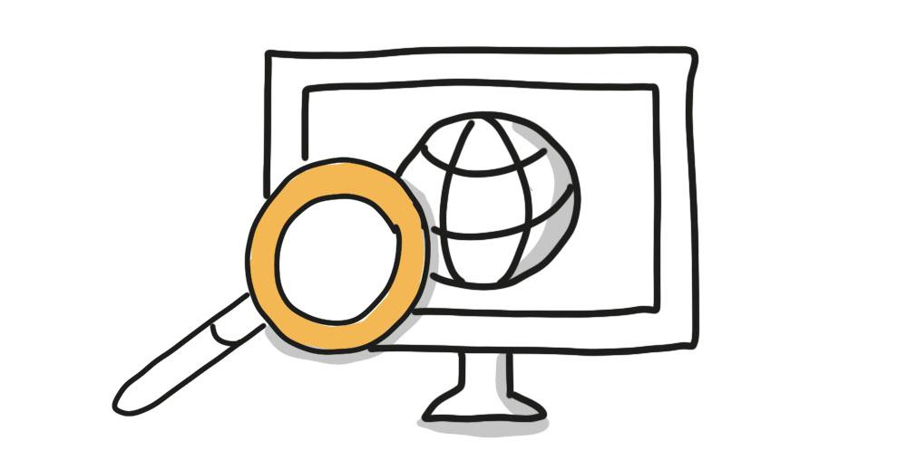 Suche im Internet