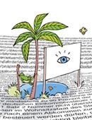 Visuelle Oase in der Textwüste (Illustration: Ildikó Zavrakidis)