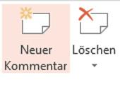 Kommentar einfügen in PowerPoint