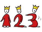 1-2-3-Könige (Zeichnung: N. Pridik)