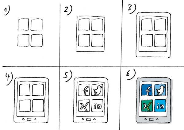 Soziale Netzwerke zeichnen