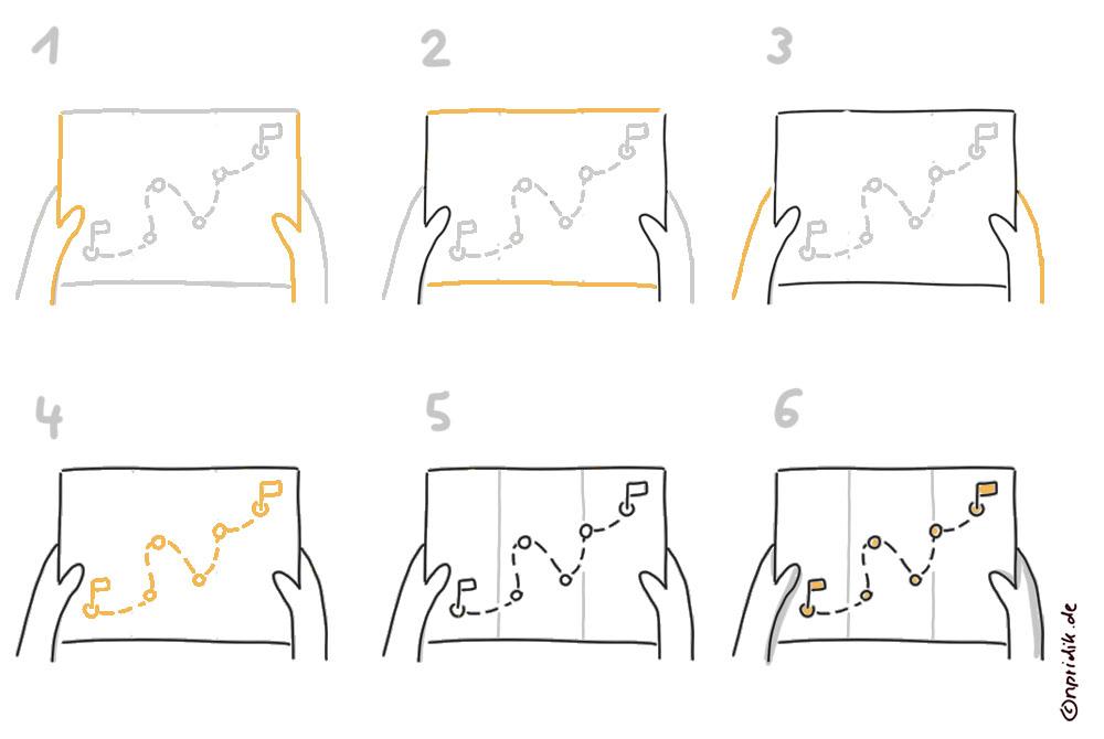 Landkarte zeichnen