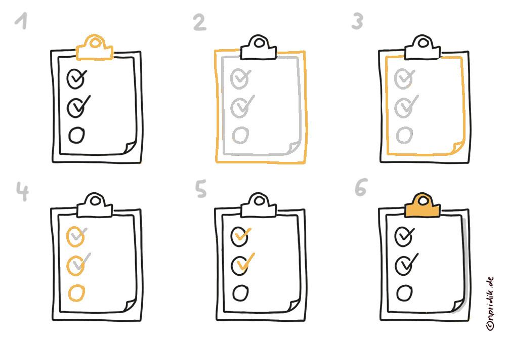 To-do-Liste-zeichnen