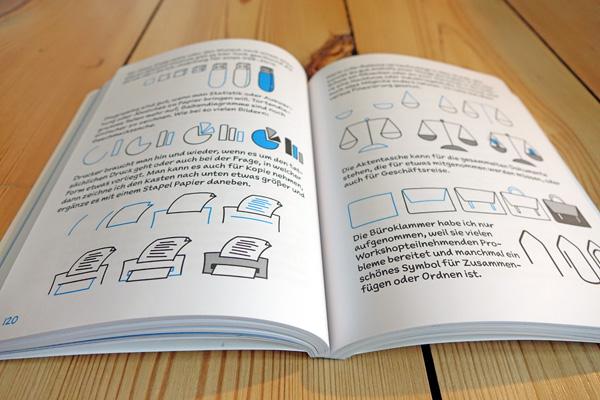 Blick ins Sketchnote-Buch von Tanja Wehr