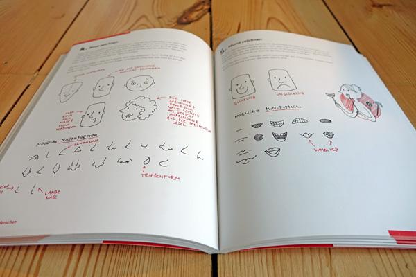 Blick ins Sketchnote-Buch von Nadine Roßa