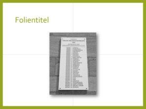 PowerPoint-Folie mit Bild in Platzhalter