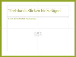 Textplatzhalter PowerPoint