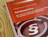 Buch Rechtssprache von Isabelle Thormann und Jana Hausbrandt