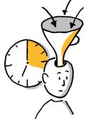 Konzentrierte passive Informationsaufnahme ist auf max. 20 Minuten beschränkt