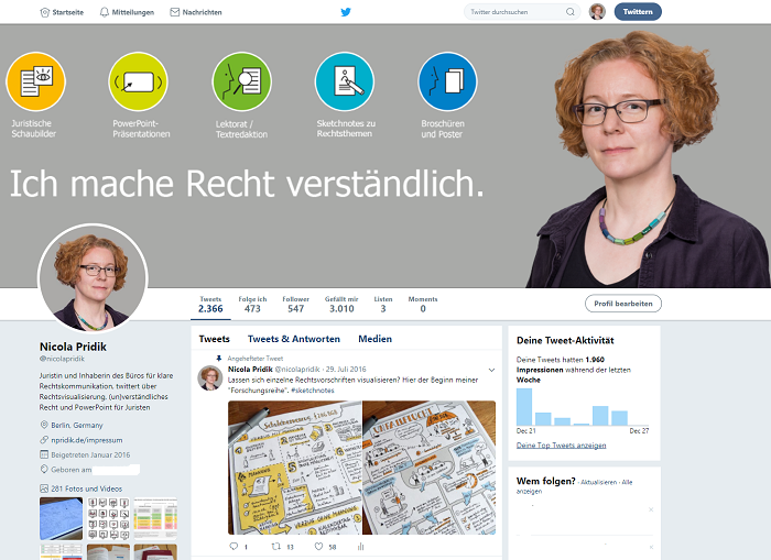 Screenshot Twitter-Profil Nicola Pridik