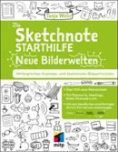 """Buchcover """"Die Sketchnote-Starthilfe - Neue Bilderwelten"""" von Tanja Wehr"""