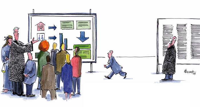 Recht - jetzt auch anschaulich (Zeichnung von Philipp Heinisch)