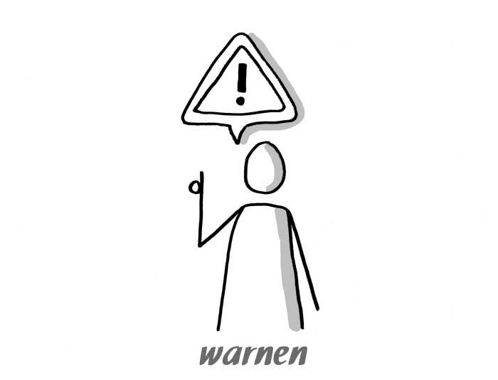 warnen