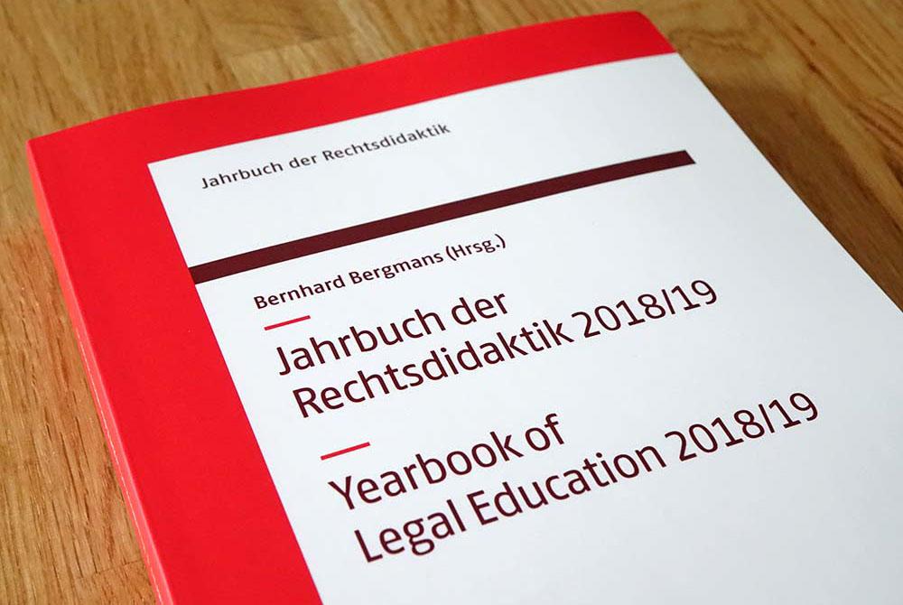 Buchcover Jahrbuch der Rechtsdidaktik 2018/19