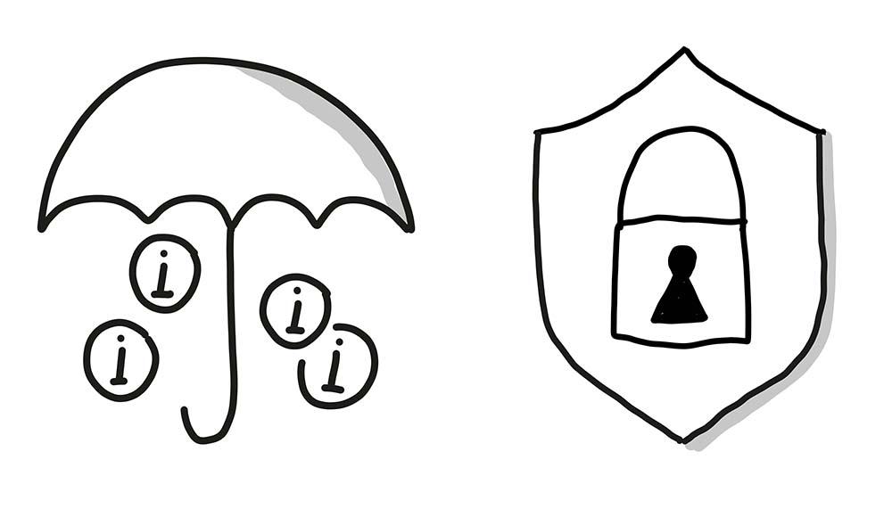 Zwei Bildvokabeln für den Datenschutz