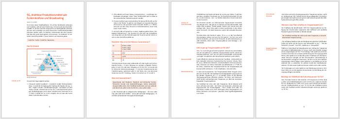 Beispiel formatierter Text