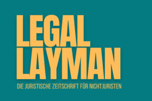 Ausschnitt des Covers vom Legal Layman
