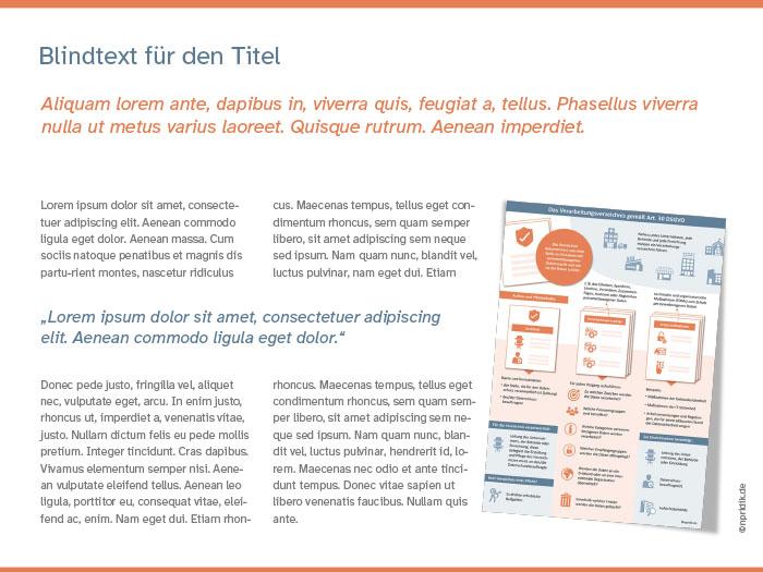 Beispiel einer Seite in einem visuellen Dokument
