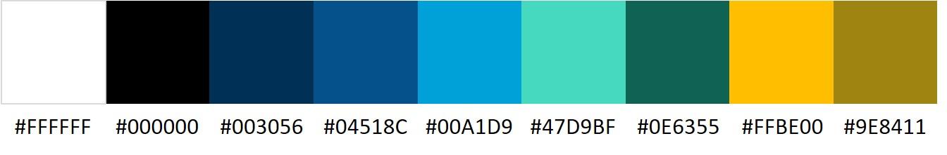 Beispiel Farbpalette